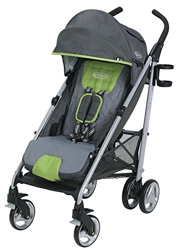 Graco Breaze Lightweight Stroller | Travel Stroller, Lake Green