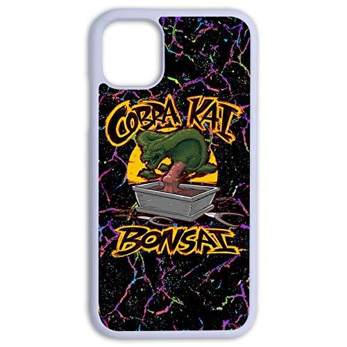 Cobra Eagle Fang Karate Hülle iPhone für iPhone 11 (6,1 Zoll) Schutzhülle 3D Customize Print Art Soft Gel Outdoor Stoßfest Protector Matt Weiß