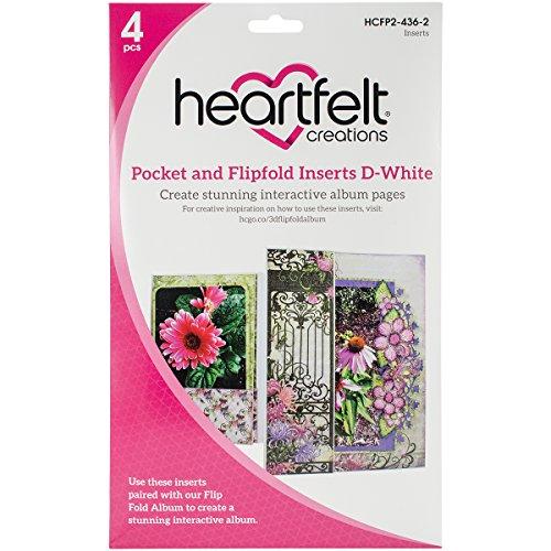 Heartfelt Creations Tasche und flip-fold fügt, Mehrfarbig, 26.72X 20.24X 1,21cm