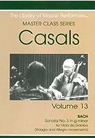 Casals Master Class Series Vol. 13 (DVD-R)