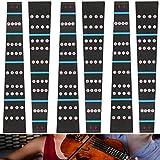 Adesivo Tastiera Violino 6 Pezzi Accessori Per Violino Per Principianti Adesivo Per Tastie...