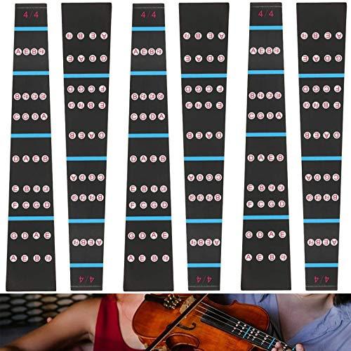 Adesivo Tastiera Violino 6 Pezzi Accessori Per Violino Per Principianti Adesivo Per Tastiera Di...