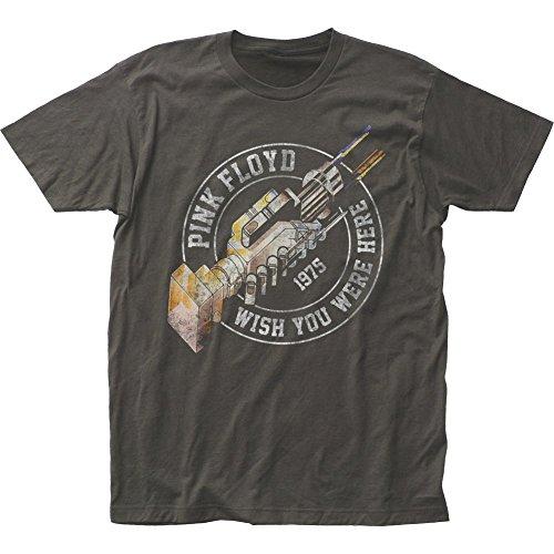Pink Floyd Wish You Were Here '75 T Shirt Camicie e T-Shirt(Medium)