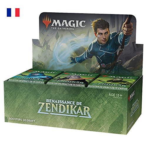 Magic: The Gathering- Boîte Draft Renaissance de Zendikar (36boosters + 1Carte de présentation)