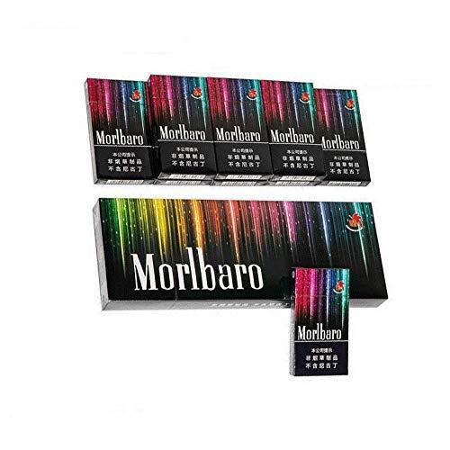 牡丹花 紅茶 緑茶タバコ、烏龍茶 雲南中国のハーブ茶タバコ、 男性と女性の健康タバコ、緑茶メンソールタバコ、モークティー、スモークティー、ニコチンとタールはありません、きれいな肺のタバコの代替品 (3パック,Marlbaro(ミントフレーバー))