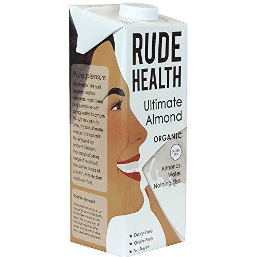 6er Pack unhöfliche Gesundheit Bio Ultimate Mandelmilch 1000 ml