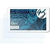 Bruni Schutzfolie kompatibel mit Archos 90b Neon Folie, glasklare Displayschutzfolie (2X)