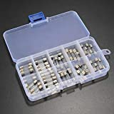 ZHI BEI CCBH componentes del módulo Kit de Surtido de Tubo de Vidrio de soplado rápido 50pcs 5 x 20 mm 0.25A ~ 6.3A El Uso Materiales, Venta Direct