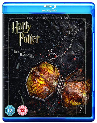 Harry Potter and the Deathly Hallows - Part 1 [Year 7] [2016 Edition 2 Disk] [Blu-ray] [2010] [Region Free]