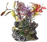 Marina 12065 Ornamento Deco Rock con Plantas, S