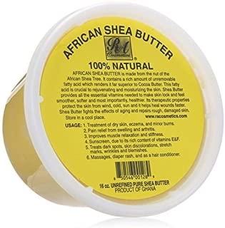 Manteca De Karité Pura Africana Natural - Hidrata Y Rejuvenece La Piel Seca - Trata El Acné, Eczema Y Quemaduras Menores - 16 Oz
