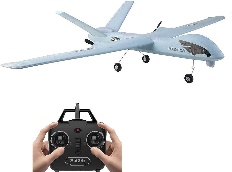 Hellofishly Remote Control Flugzeug, Z51 2.4G EPP 660mm Spannweite Eingebauter Kreisel mit Lichtleiste DIY RC Flugzeug RTF, Axis Gyro für Anfnger, Leicht zu Fliegende Segelflugzeuge
