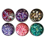 Assorted Colorful Bulk Cup Sequins 12,000 Iridescent Craft Sequins Embellishments for DIY Arts & Craft