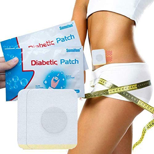 Diabetic Patches to Lower Blood Sugar Naturally, Herbal Cure Reduce High Blood Sugar Balance Plaster x 3pack 18 pcs