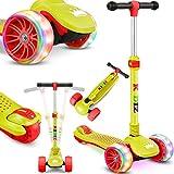 KIDIZ® Roller Kinder Scooter X-Pro2 Dreiradscooter mit PU LED Leuchtenden...