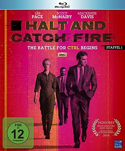 Halt and Catch Fire - The Battle For CRTL Begins [AMC] Staffel 1 (Episode 1-10 im 4 Disc Set) [Blu-ray]