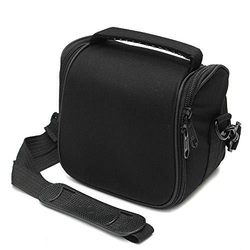 ChenYongPing Portable Waterproof Camera Backpack Water-resistant Camera Shoulder Sling Bag Carry Travel Case For Digital Camera Flash Lens (Color : Black, Size : One size)