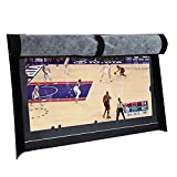 BroilPro Accessories Outdoor 40'-43' TV Set Cover,Scratch Resistant Liner Protect LED Screen Best-Compatible with Standard Mounts and Stands (Black) … …