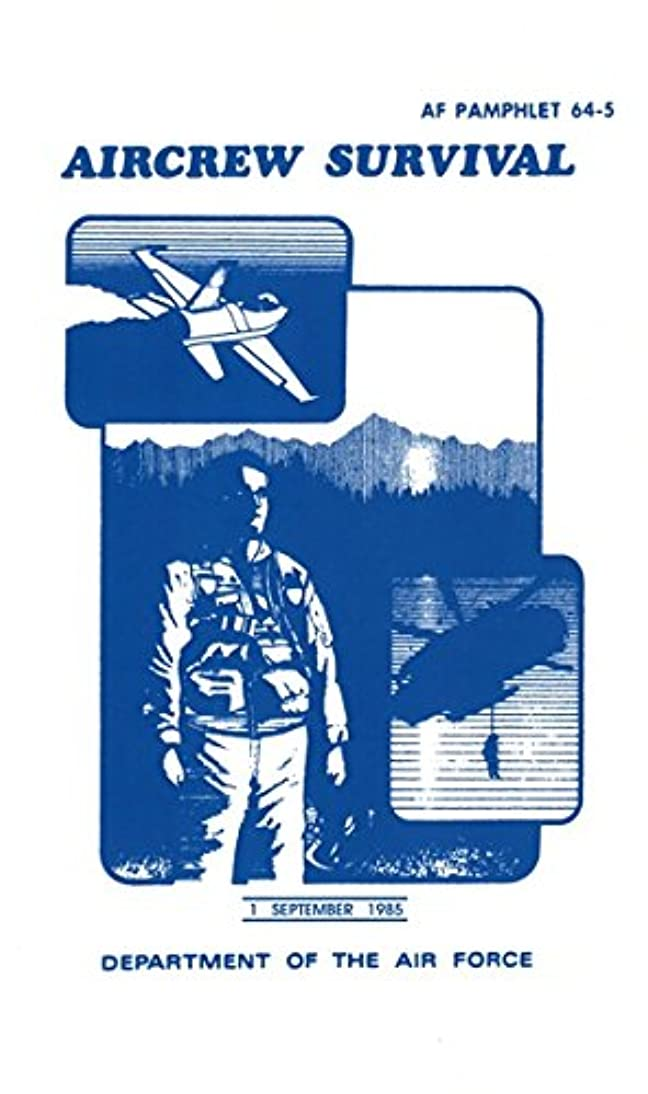 MILITARIA Aircrew Survival Manual (Af 64-5), White ihid703863757933