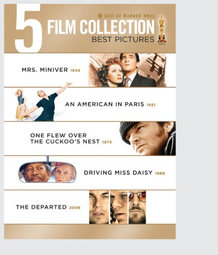 Best of Warner Bros. 5 Film Collection Best Pictures ( The Departed / Driving Miss Daisy / One Flew Over the Cuckoo