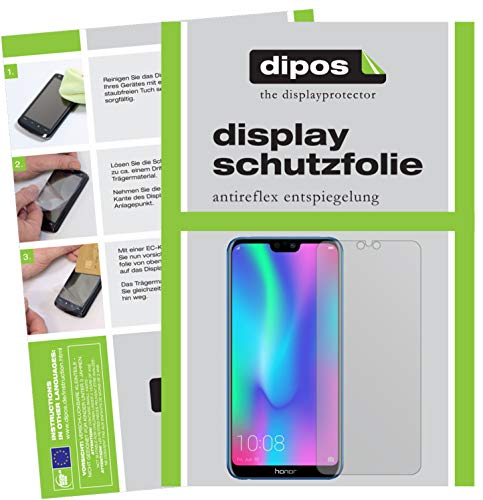 dipos I 6x Screen Protector matte compatible with Honor 9N Protection Films