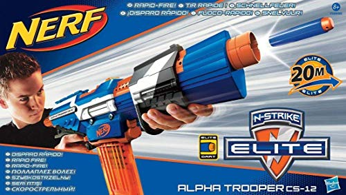 Elite - Fucile giocattolo Alpha Trooper Nerf