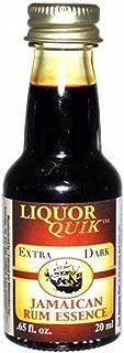 Dark Jamaican Rum Liquor Quik Essence, 20ml