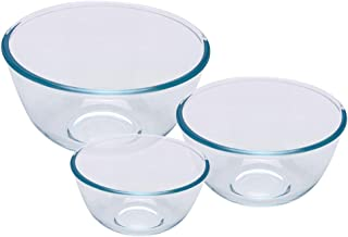 Pyrex Classic Glass Bowls, (3-Piece Set), 0.5L, 1L and 2L