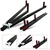 Xn8 Heavy Duty 3 Bar Leg Stretcher Machine | For-Home-Gym-Martial Arts-Yoga-Stretching-Slimming-Exercising Legs Thighs
