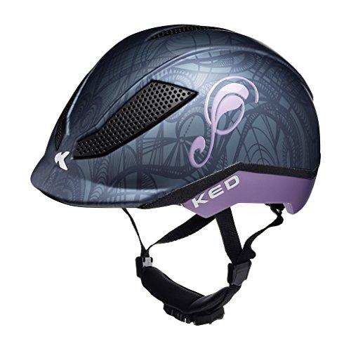 KED Pina Helmet Kids Black Matt Kopfumfang M | 51-56cm 2018 Fahrradhelm