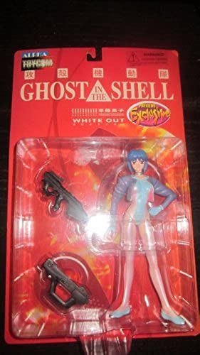 Ghost in the Shell Motoko Kusanagi Weiß Out Previews Exclusive Action Figure by Toycom