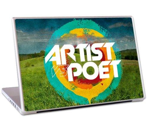 MusicSkins Artist Vs Poet Rainbow Schutzfolie/Klebefolie für 27.94 cm MacBook Air