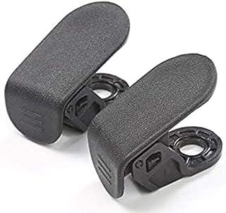 Yaootely Haken Clip Bolzen Abdeckungen Vordere Koffer Raum Tasche Fracht Haken Abdeckung Passend für Tesla Model 3 (Schwarz)