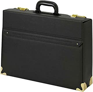 ウノフク busitool ビジツール ビジネス パイロットケース ブリーフケース A3書類対応 日本製 ブラック 24-0344-10