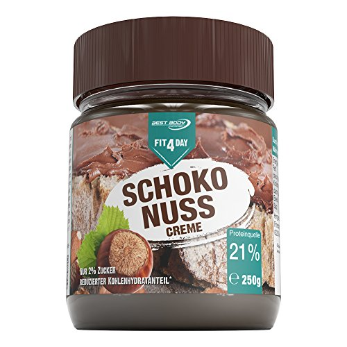 Best Body Nutrition Fit4Day Schoko Nuss Creme, 250 g