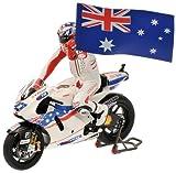 27 C. Stoner with figure Minichamps 1/12 Ducati Desmosedici GP09 2009 Moto GP...