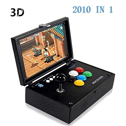 2020 Classic Arcade Game Console, 2020 en 1 Pandora Treasure 3D Box Arcade Machine Nouveau système JAMMA HDMI Retro Jeux vidéo Portable Console 10