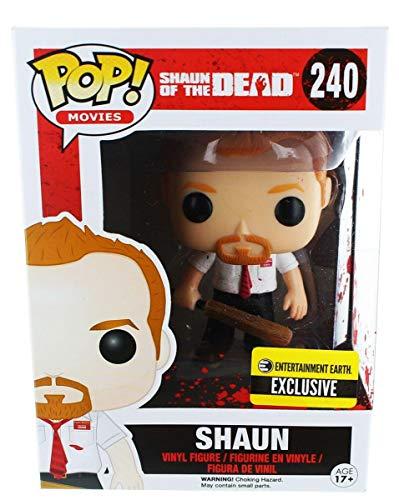 Funko - Figurine Shaun of the Dead - Shaun Bloody Exclu Pop 10cm - 0849803061296