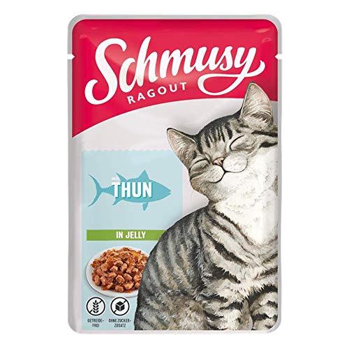 Schmusy Ragout mit Thunfisch in Jelly 100g (Menge: 22 je Bestelleinheit)