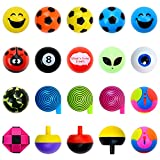 Bulk Toys - 1.1 Inch Mini Toys - 100 Pcs Prizes for Kids - Party Favors for Kids - Birthday Favors Tiny Kid Gifts - Pinata Stuffers Goody Bag Stuffers Easter Egg Fillers - Vending Machine Toys