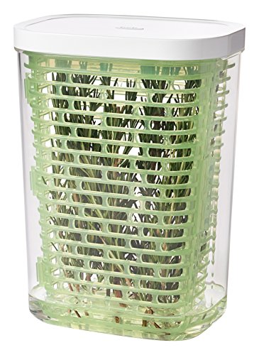 OXO 11212300 Good Grips GreenSaver Herb Keeper- Large (2.8 Qt)