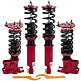 Adjustable Damping Coilovers for Nissan 240SX 89-90 180SX 200SX Silva Sileighty 89-98 Suspension Coil Spring Struts Shocks Absorber