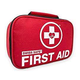 Swiss Safe 2-in-1 First Aid Kit (120 Piece) + Bonus 32-Piece Mini First Aid Kit: Compact, Lightweight for Emergencies at Home, Outdoors, Car, Camping, Workplace, Hiking & Survival 7 <p>★ NEW & UPGRADED FOR 2019: 2-in-1 Premium First Aid Emergency Kit with 120 medical grade items. FDA APPROVED: Manufactured from highest quality FDA approved facility exceeding safety standards. INCLUDES MINI-FIRST AID KIT: Amazingly small, lightweight Mini Kit with additional 32 medical items. MULTIPURPOSE: Perfect for any occasion or events - family, home, workplace, emergencies, outdoors. 100% MONEY BACK GUARANTEE: Swiss Safe Guarantees customer satisfaction or receive a 100% refund.</p>