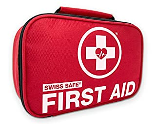 Swiss Safe 2-in-1 First Aid Kit (120 Piece) + Bonus 32-Piece Mini First Aid Kit: Compact, Lightweight for Emergencies at Home, Outdoors, Car, Camping, Workplace, Hiking & Survival (B01G45DWOK) | Amazon price tracker / tracking, Amazon price history charts, Amazon price watches, Amazon price drop alerts