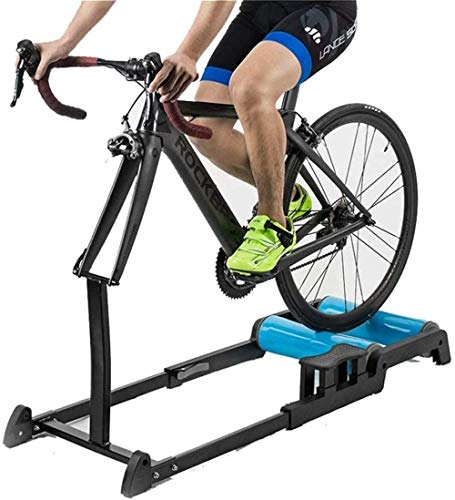 Bicicleta Turbo Trainer Indoor Trainer Rodillo de Entrenamiento Plegable Ajustable para Bicicleta de montaña Bicicleta de Carretera Fitness Entrenamiento en Interiores Fantastic
