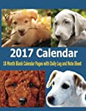 2017 Calendar: 2017 Calendar starting December 2016 and ends January 2018. Fill in the blank calendar pages. Write on daily entry log or note sheet ... month. Fast, free shipping for Prime Members!