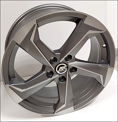 1 ESSE10 Llantas de Aleación NAD 8 18 5X112 45 66,5 Compatible Con Seat Leon Ateca Skoda
