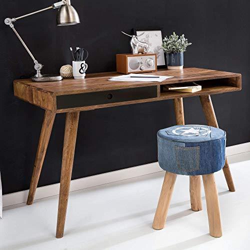 Wohnling Schreibtisch Repa, schwarz, 120 x 60 x 75 cm
