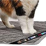 Gorilla Grip Original Premium Durable Cat Litter Mat, XL Jumbo, No Phthalate, Water Resistant