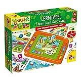 JuniorToys Lerntafel (Lesen und Schreiben - Puzzle- und Lernspiel) -